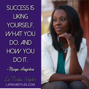 success maya angelou