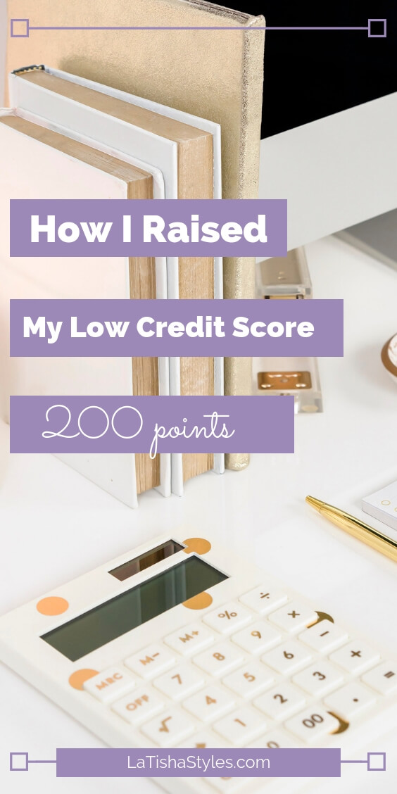raised low credit score