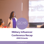 2018 Military Influencer Conference recap Blog