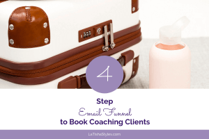 email funnel book coaching clients blog