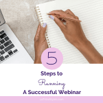 5 Steps to Running a Successful Webinar - Blog