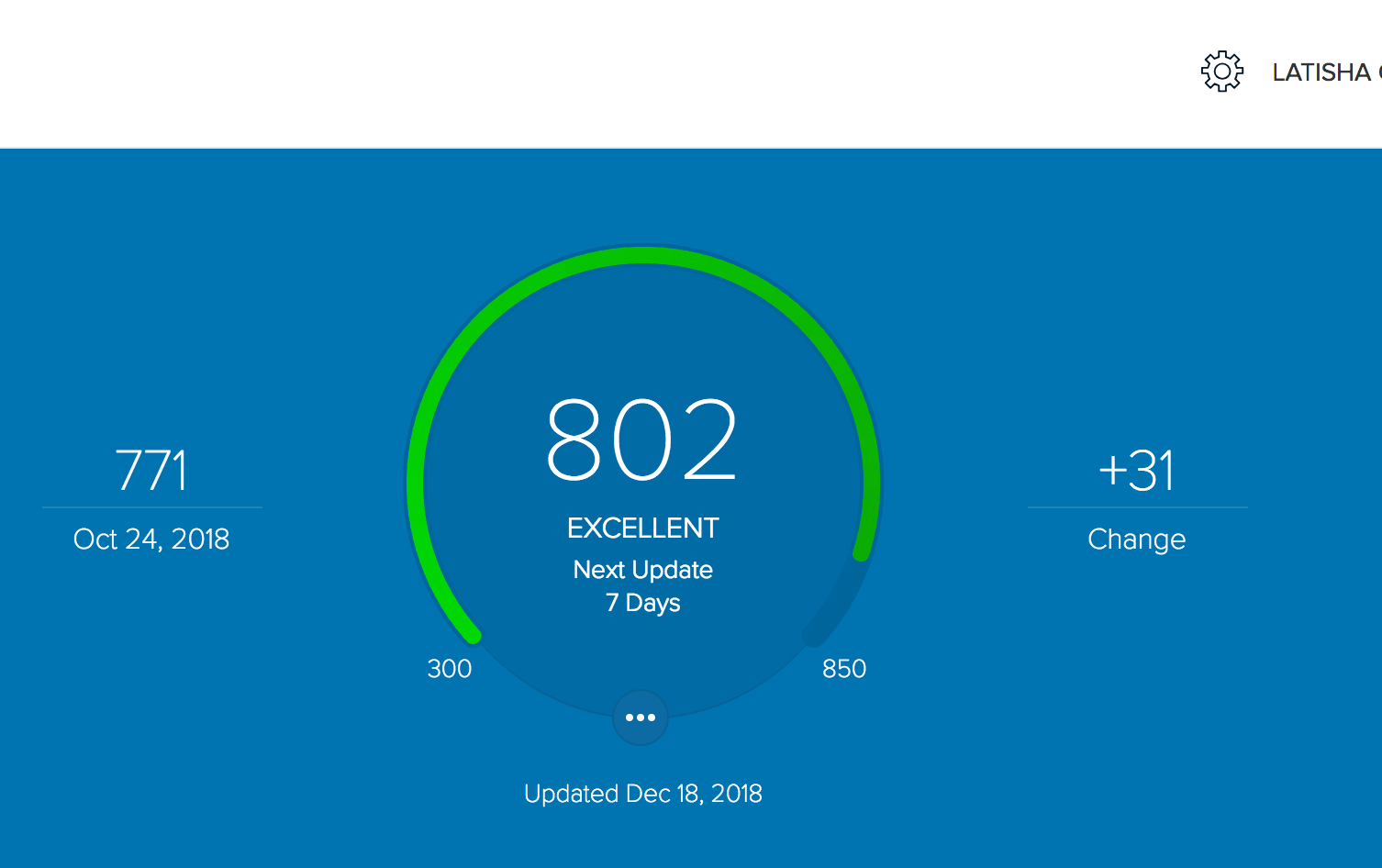 800 credit score