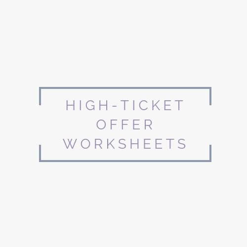 high-ticket-offer-worksheets