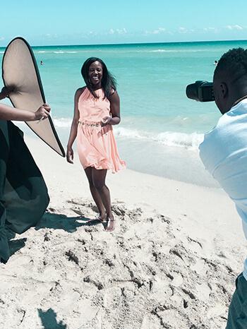 latisha beach lifestyle influencer