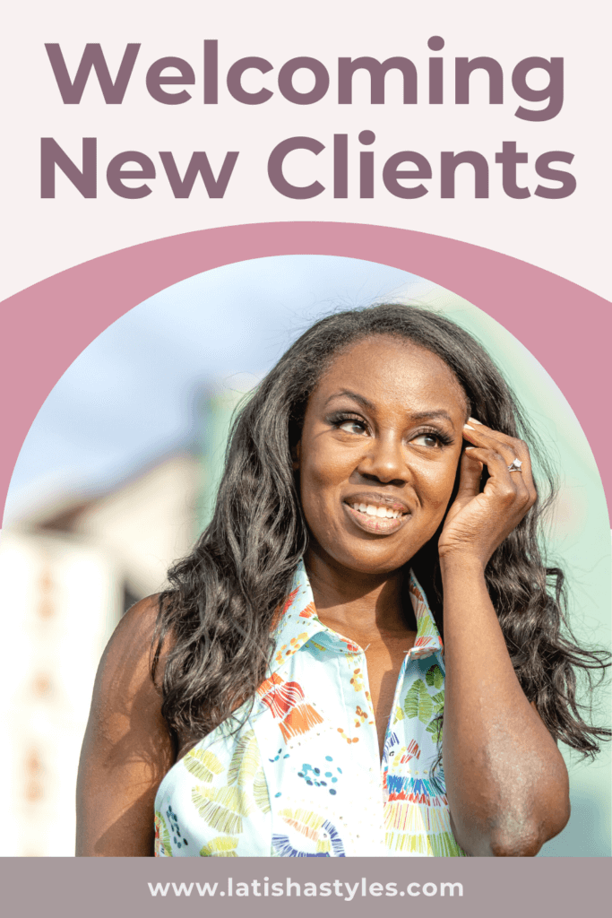 Welcoming New Clients